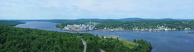 Photograph - Northeasterly View From Observation Tower by Georgia Hamlin