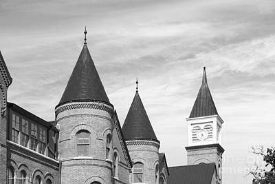 Northeastern University Photograph - Northeastern State University Tahlequah Hall by University Icons