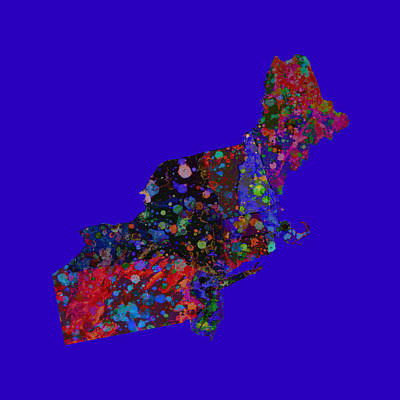 Northeastern United States 4 Art Print