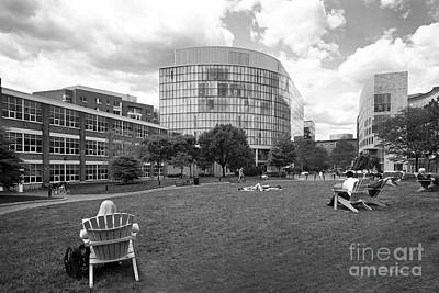Northeastern Photograph - Northeastern University Behrakis Health Sciences Center by University Icons