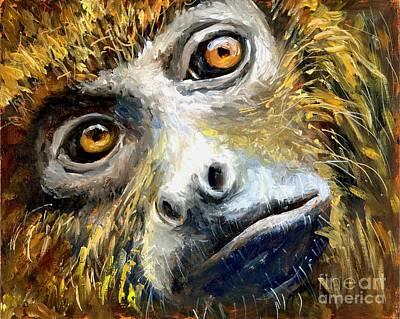 Northern Brown Howler Monkey Art Print