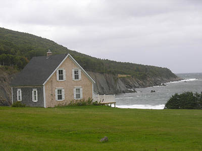 Photograph - Northern Cape Breton Island Nova Scotia by Robert Lozen