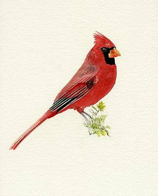 Painting - Northern Cardinal by Brett Winn