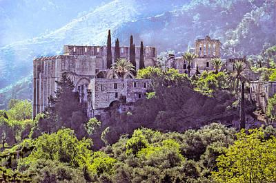 Photograph - Northern Cyprus - Bellapais Abbey by Martin Liebermann