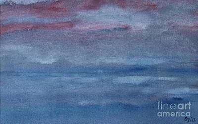 Northern Evening Art Print by Susan  Dimitrakopoulos