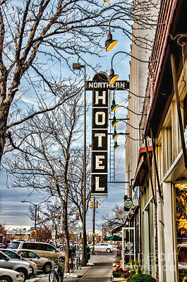Fort Collins Photograph - Northern Hotel by Baywest Imaging