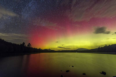 Photograph - Northern Lights - Fire In The Sky by John Vose