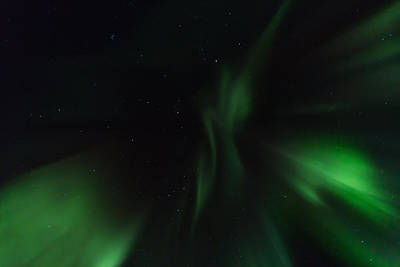 Northern Lights In Norway Art Print