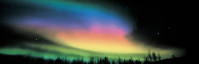 Northern Lights Art Print by Panoramic Images