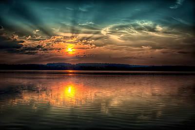 Northern Maine Sunrise Art Print by Gary Smith