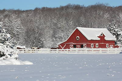 Northern Michigan Country Winter Original
