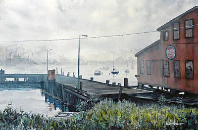 Ballard Painting - Northern Mist by Bill Hudson