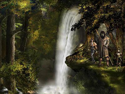 Master Potter Digital Art - Northern Oz #46 by Vjkelly Artwork