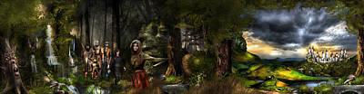 Master Potter Digital Art - northern oz FULL PIC...43 by Vjkelly Artwork