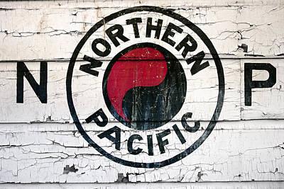 Brakeman Photograph - Northern Pacific Railway  by Daniel Hagerman