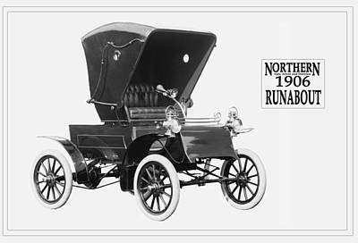 Photograph - Northern Runabout Convertible 1906. by Unknown Photographer