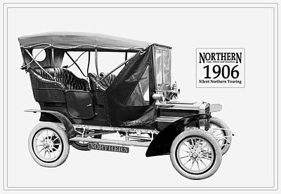 Photograph - Northern Silent Touring Car I 1906.  by Unknown Photographer