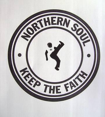 Northern Soul Dancer Art Print