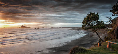 Crescent City Digital Art - Northern View From Pebble Beach by Christopher Cutter