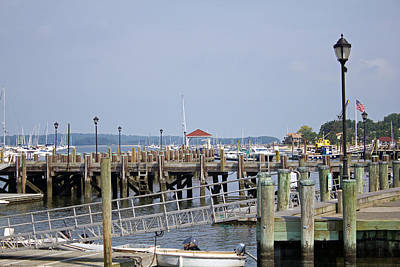 Northport Dock Long Island New York Art Print