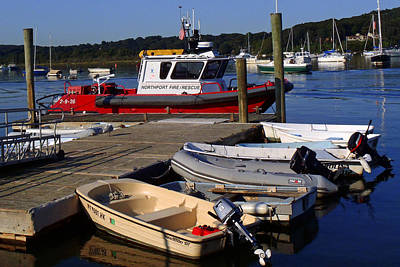 Northport Fire Boat Art Print