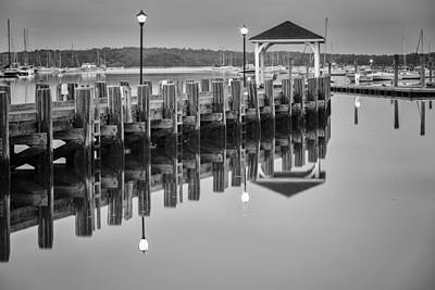 Northport Photograph - Northport Reflections by Mike Lang