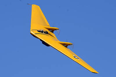 Planes Of Fame Photograph - Northrop N9m-b Flying Wing Camarillo August 17 2013 by Brian Lockett