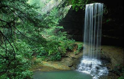 Photograph - Northrup Falls by Byron Jorjorian