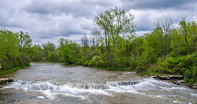 Photograph - Northrup Road Waterfalls 2158 by Guy Whiteley