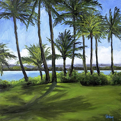 Haleiwa Painting - Northshore Shadows by Stacy Vosberg
