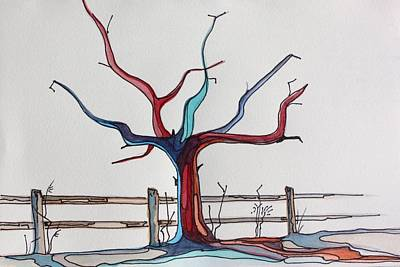 Roots Art Print by Pat Purdy