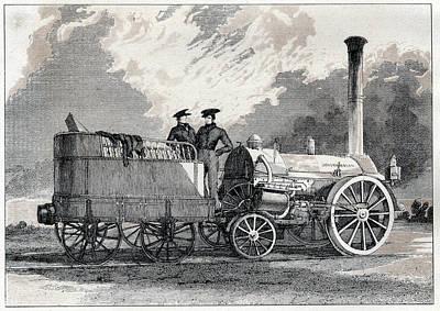 Northumbrian Locomotive Art Print