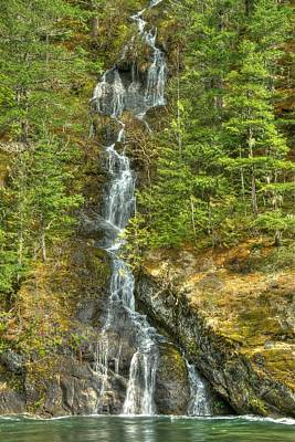 Photograph - Northwest Cascade by Jeff Cook