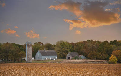 Northwest Iowa Farmscape Art Print