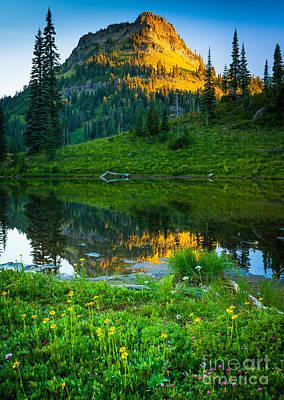 Gigantic Photograph - Northwest Sunrise by Inge Johnsson