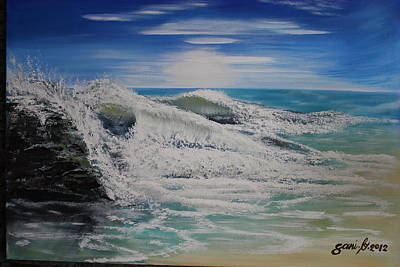 Northwind Art Print by Gani Banacia