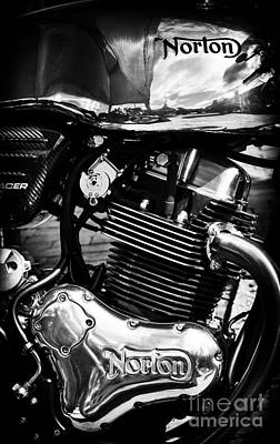 Photograph - Norton Domiracer by Tim Gainey