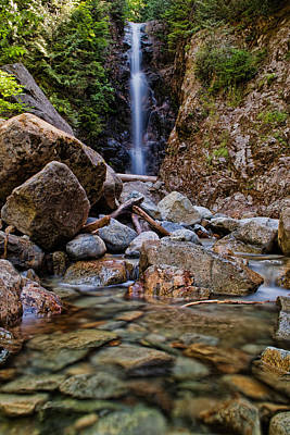 North Vancouver Photograph - Norvan Falls by James Wheeler