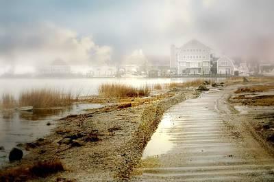 Norwalk Photograph - Monday's Fog by Diana Angstadt