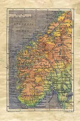 Norway 1906 Original by Lisa Middleton