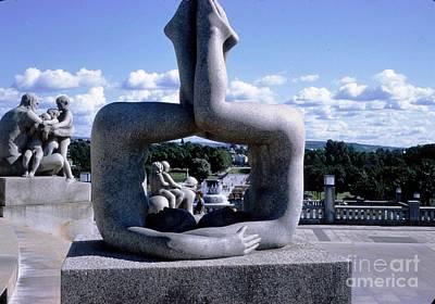 Norway Frogner Park Art Print