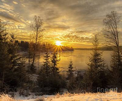 Norway Hedmark Art Print