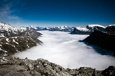 Photograph - Norway In The Clouds by Bill Howard