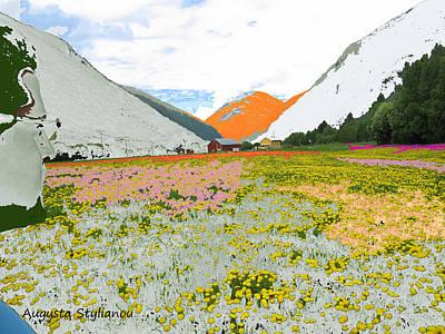 Digital Art - Norway Landscape. by Augusta Stylianou