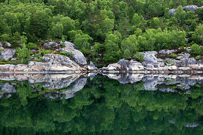 Norway Photograph - Norway, Lysefjord by Kymri Wilt