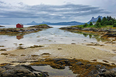 Norway View From Tranoya Art Print by Fredrik Norrsell