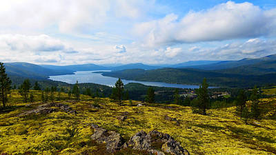 Norwegian Landscape 3 Art Print