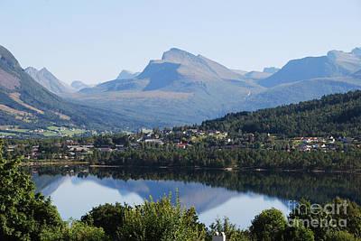 Photograph - Norwegian Mountain Lake by Ankya Klay