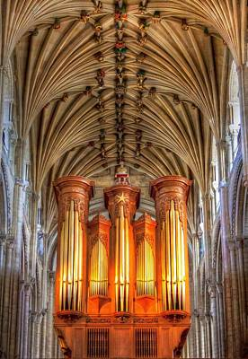 Photograph - Norwich Cathedral by Jenny Setchell