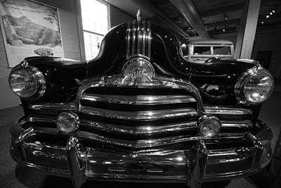 Photograph - Nose '47 Pontiac by John Schneider
